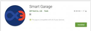 smart garage app